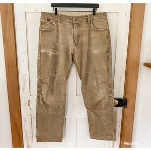 KUHL RYDR vintage patina distressed pant 38x34